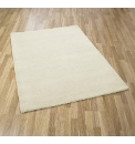 Plain Dye Large Wool Rug