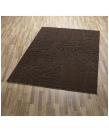 Chrysanthemum Carved Rug