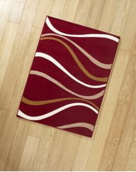Waves Large Rug