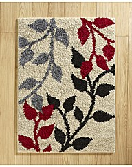 Leaf Twist Shaggy Rug