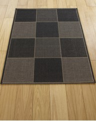 Checked Flatweave Runner & Rugs
