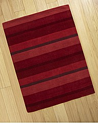 Striped Luxury Wool Rug