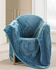 Faux Fur Throw by Catherine Lansfield
