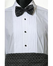 Fancy Design Cumberbund/ Bow Tie Set