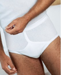 Premier Man Pack of 2 Eyelet Briefs