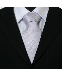 Double Two XL Woven Plain Tie - 67ins