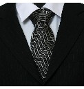 Knightsbridge Woven Wave Tie