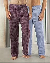 Premier Man Pack of 2 Pyjama Bottoms