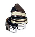 Southbay Pack of Two Chino Belts
