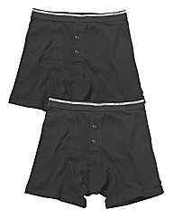 Jockey Pack of 2 Knit Boxers