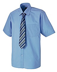 Rael Brook Boxed S/S Shirt and Tie Set