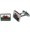 Pair of Welsh Dragon Cufflinks