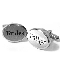 Pair of Wedding Brides Father Cufflinks