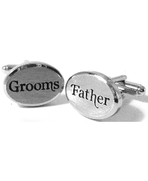 Pair of Wedding Grooms Father Cufflinks