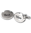 Pair of Wedding Best Man Cufflinks