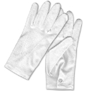 Pair of White Cotton Gloves