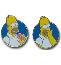 Simpsons Donut Cufflinks