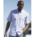 Rockport Short Sleeve Check Shirt