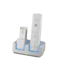 Wii Twin Remote Docking Station