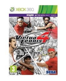 Virtua Tennis 4 XBox 360 Game