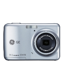 GE 14MP Digital Camera - Silver