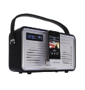 Retro DAB Radio with iPod Dock - Black