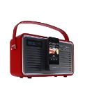 Retro DAB Radio with iPod Dock - Red