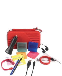 DSi Pro Accessory Pack - Red