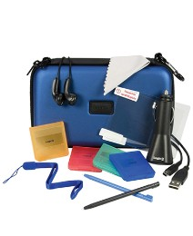 DSi XL Pro Accessory Pack - Blue