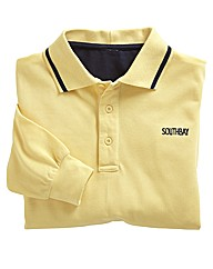Southbay Unisex Tipped Pique Polo Shirt