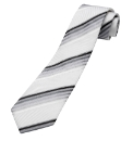 Sorrento Woven Silk Stripe Tie