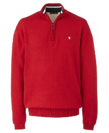 Farah Zip Neck Sweater