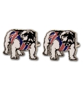 Pair of British Bulldog Cufflinks