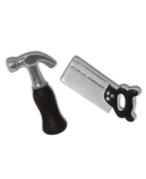 Pair of Hammer And Saw Cufflinks