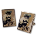 Pair of Your Country Needs You Cufflinks
