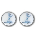 Pair of Bikini Girl Cufflinks