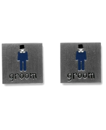 Pair of Groom Cufflinks