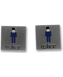 Pair of Usher Cufflinks