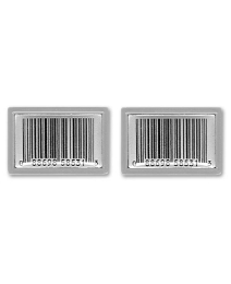 Pair of Barcode Cufflinks