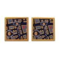 Pair of Map of London Cufflinks