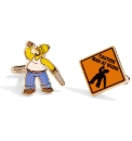 Pair of Homer Men at Work Cufflinks