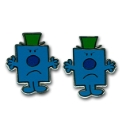 Pair of Mr Grumpy Cufflinks