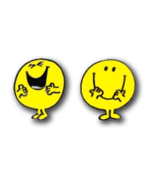 Pair of Mr Happy Cufflinks