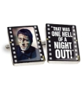 Pair of Frankenstein Night Out Cufflinks