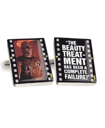 Pair of Mummy Beauty Treatment Cufflinks
