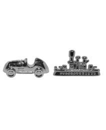 Pair of Monopoly Car/Boat cufflinks
