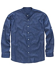 Southbay Denim Grandad Shirt Regular