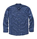 Southbay Denim Grandad Shirt Long