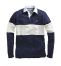 Farah Long Sleeve Rugby Polo Shirt