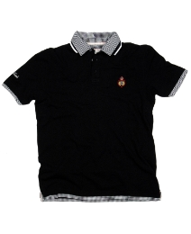 Grey Hawk Double Collar Polo Shirt